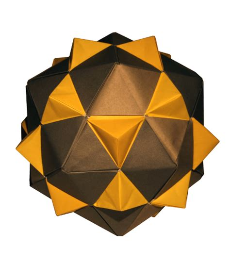 Origami Constructions - icosahedron equilateral triangles origami constructions