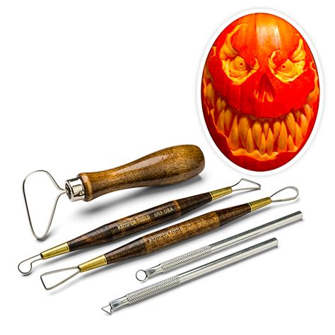 carving tools for pumpkins for pumpkin carving tool set thinkgeek