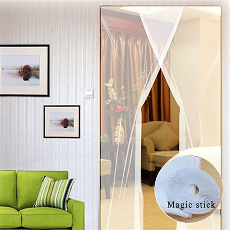 diy mosquito curtains 2pcs 31 215 83 inch diy window door anti mosquito pest curtain