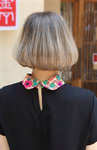 back view of mid length hair bob back view of trendy medium length bob cut japanese