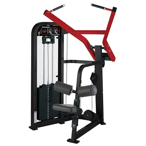 hammer strength select fixed pulldown used fitness