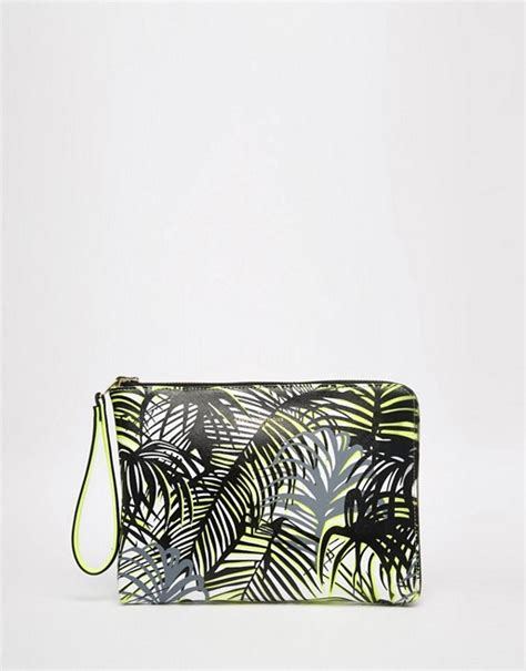 Pauls Boutique Printed Clutch At Asos by Pauls Boutique Paul S Boutique Mini Fleur Reversible