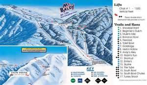 mt baldy trail map