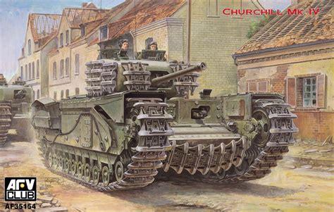 16ds Club 2 1 Army infantry tank churchill mk iv a c creation