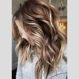 Dark Brown And Blonde Chunky Highlights | 516 x 740 jpeg 133kB