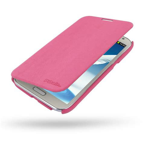 samsung galaxy note 2 casual folio cover case petal pink