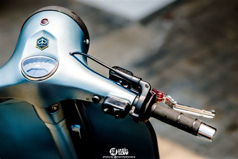 modifikasi vespa sprint 77 gettinlow bisonz s 1974 custom piaggio vespa sprint