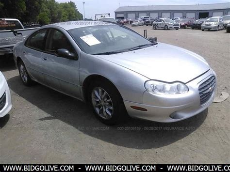 2004 Chrysler Concorde Lxi by Used 2004 Chrysler Concorde Lxi Sedan Car From Iaa Auto