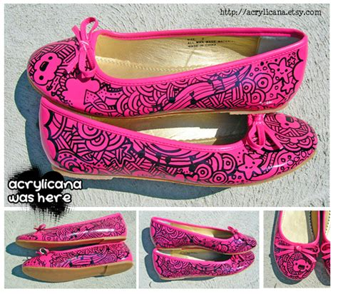 pink shoes by marywinkler on deviantart