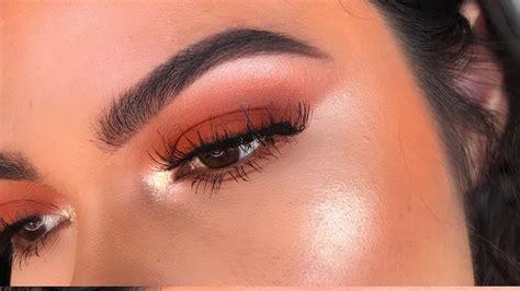 Eyeshadow Orange orange eyeshadow tutorial morphe 350 navarro