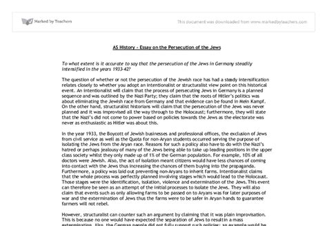 A Level History Essay by College Essays College Application Essays A Level History Essay
