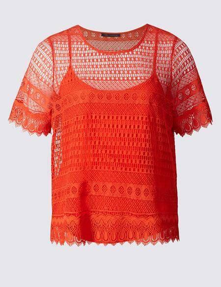 Atasan Wanita Marc 10 model baju atasan untuk orang gemuk tahun 2017