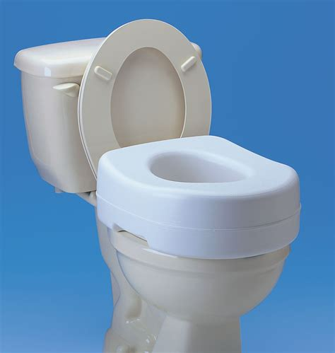 elevated toilet seat medsource raised toilet seats
