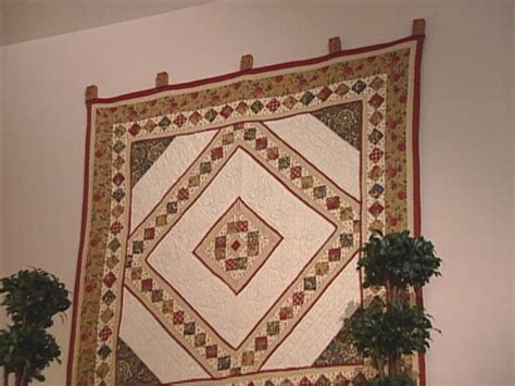 Quilt Hangers For The Wall by How To Make A Quilt Cl Hanger Hgtv