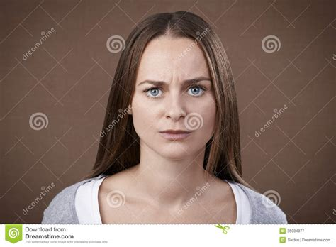 the youngest looking woman angry woman royalty free stock photography image 35934877