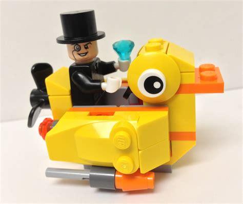 Lego Batman Duck Set lego batman penguin 76010 review giveaway