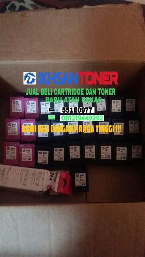 Terlaris Catridge Hp Original 703 704 678 680 Black Colour Hitam jual beli cartridge dan toner hubungi ikhsan toner