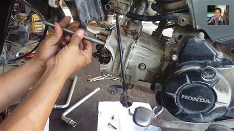 Kopling Kawasaki Kaze R cara bongkar silinder kop dan cara bongkar mesin