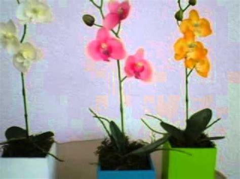 orquidea de papel crepe orqu 237 deas artificiales extenso surtido youtube