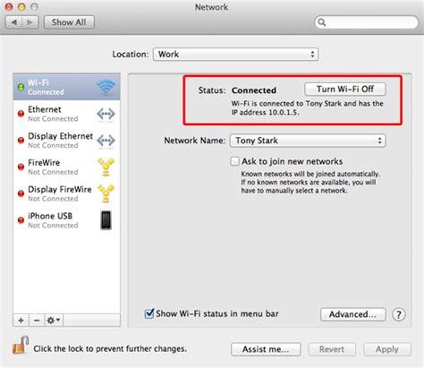 Mac Address To Ip Address Finder How To Find Your Mac S Ip Address Macinstruct