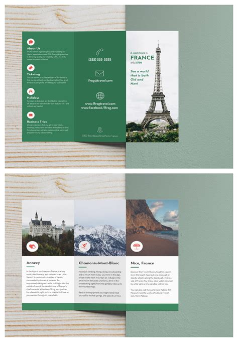 travel brochures templates 43 travel brochure templates free