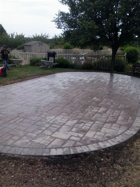 sted concrete patio installation collegeville