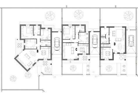 Pianta Casa Bifamiliare by Planimetrie E Piante Villette Unifamiliari E Bifamiliari