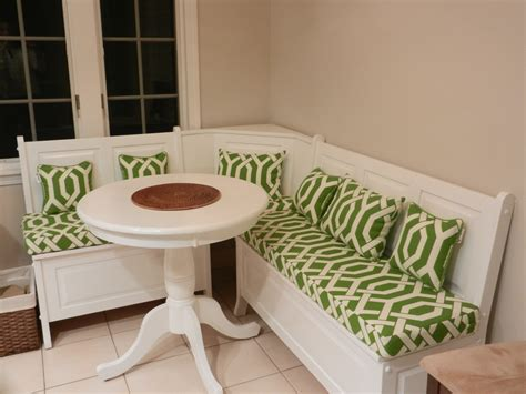 kitchen table bench cushions corner breakfast nook set cool modern corner breakfast