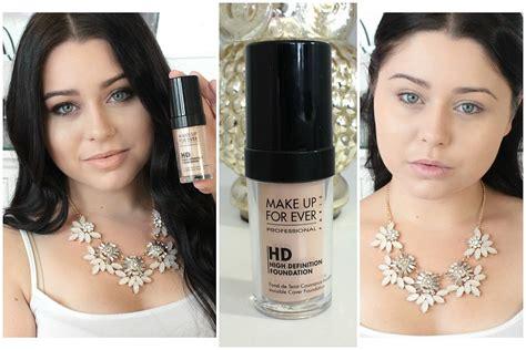 Bedak Hd Makeup Forever impression review make up forever hd foundation
