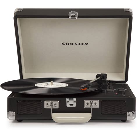 cruiser deluxe turntable crosley radio cruiser deluxe portable turntable cr8005d cb b h
