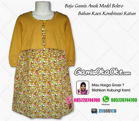 Baju Kaos Bolero Salur baju muslim anak perempuan bahan kaos harga murah