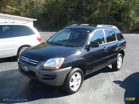 Kia Sportage 2008 Black 2008 Black Cherry Metallic Kia Sportage Lx 21634032