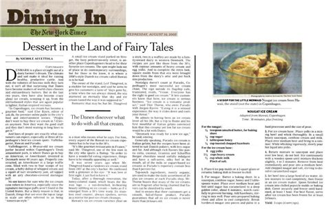 ny times wednesday food section nichole accettola