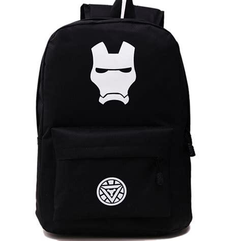 Travel Bag Kanvas Batman 2015 new iron canvas backpack printing travel backpacks for boys