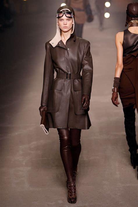 Leather Bb Gemini steunk fashion runway model aviator steunk rocks