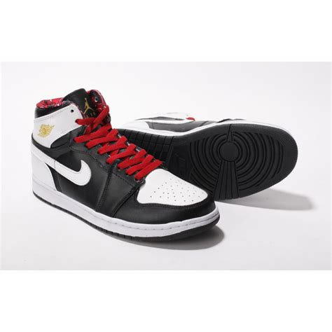 shoes for cheap air 1 retro classical high black white nike