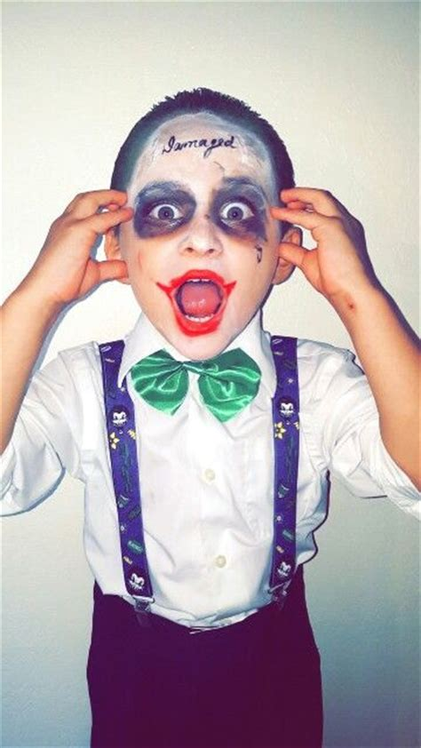 jared leto joker costume  kids suicide squad joker