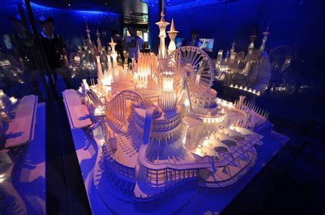 Paper Craft Castle - paper craft castle fubiz media