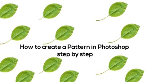 how to make a pattern in photoshop youtube how to create pattern background in photoshop youtube