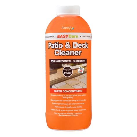 easy patio  deck cleaner