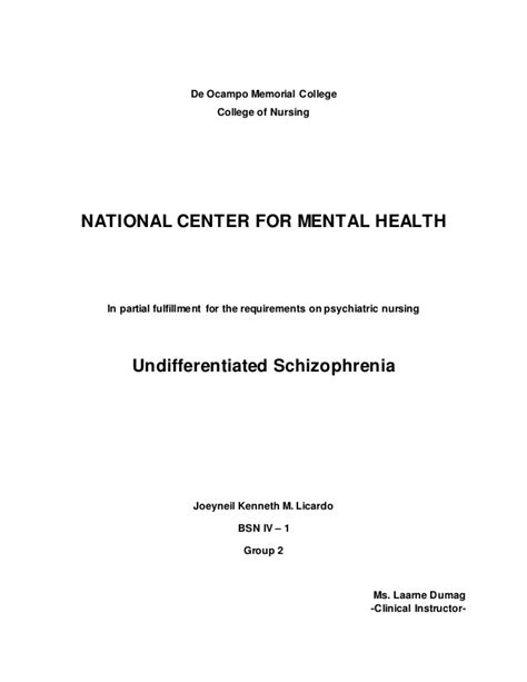 mental health study template mental health study template best of study