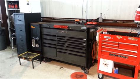 toolbox tour matco 4s 12 drawer tool box snap on side