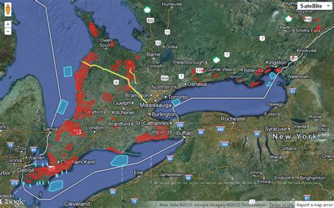 Ontario Addresses Lookup Ontario Wind Turbine Map Keeps Growing Ontario Wind Resistance