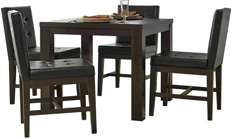 Square Dining Room Sets Athena Chocolate Square Dining Room Set P109d 12 Progressive