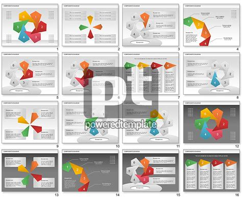 Project Presentation Diagram For Powerpoint Presentations Template For Project Presentation