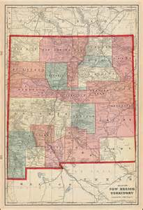 map of texas new mexico and colorado map of new mexico territory barry ruderman antique maps inc