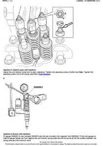 volvo nh valves and unit injectors adjust auto repair