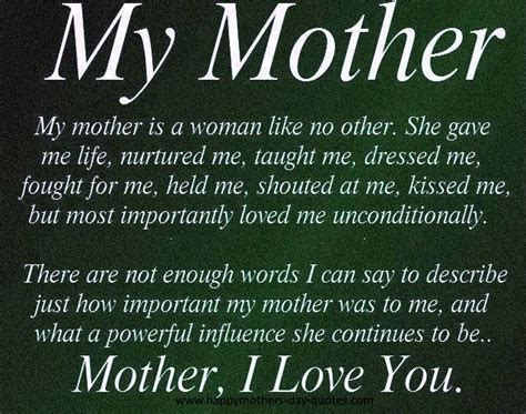 mother quotes i love my mom quotes from daughter quotesgram