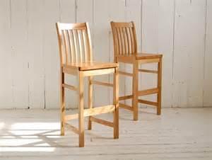 Oak Bar Stool With Back High Back Oak Bar Stool Eastburn Country Furniture