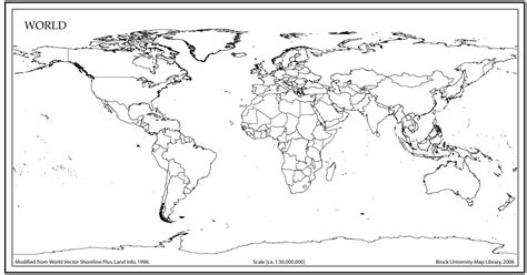 printable world map with country names black and white world map outline with countries world map pinterest